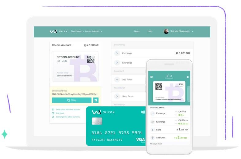 wirex avis sur la carte visa bitcoin et son portefeuille blockchain cryptonaute. Black Bedroom Furniture Sets. Home Design Ideas