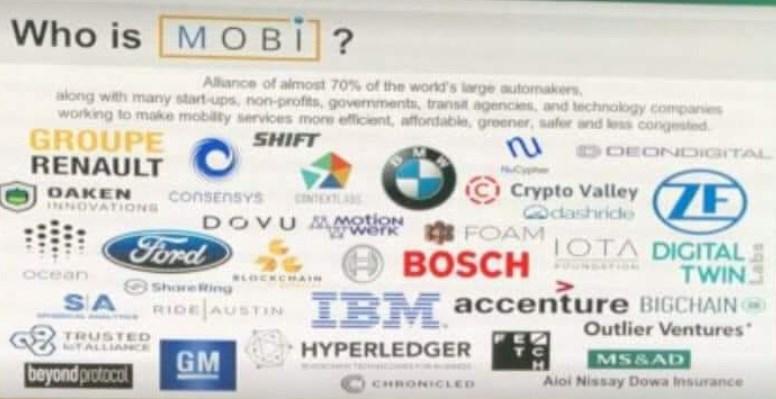 BMW, GM, Ford et Renault créent un groupe de recherche — Blockchain