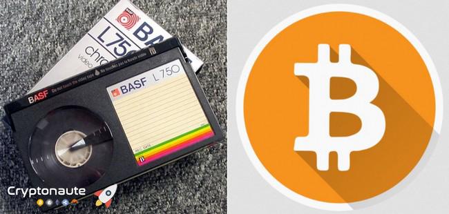 Hutchins compare Bitcoin au format Betamax détrôné par VHS
