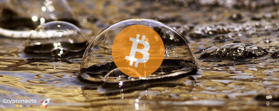 Une étude révèle que la bulle Bitcoin n'aurait pas complétement éclaté