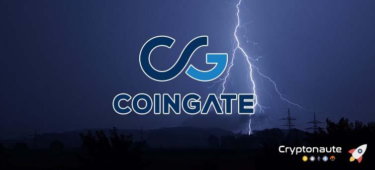 Bitcoin : Coingate prend désormais en charge le Lightning Network