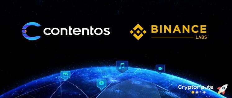 Binance Labs investit dans l'écosystème blockchain Contentos