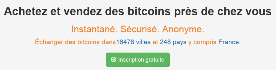 Inscription localbitcoins