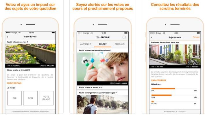 Orange présente une solution de vote électronique sous blockchain