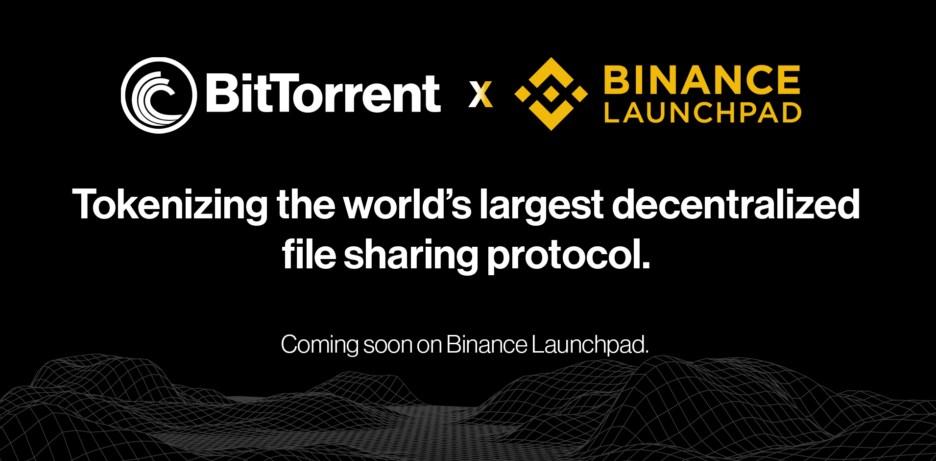BitTorrent va lancer sa crypto-monnaie BTT sur Binance Launchpad