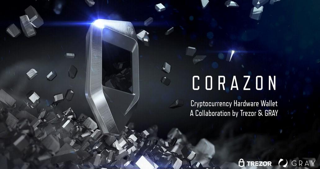 Corazon : Trezor et Gray présentent un nouveau hardware wallet de luxe