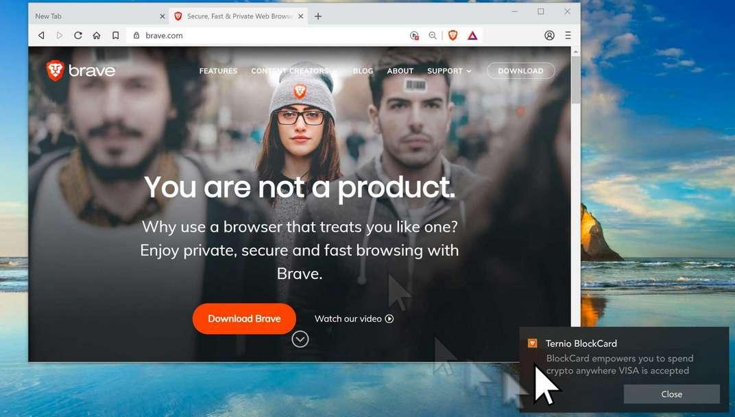 Brave lance Ads et reverse 70% de ses revenus en Basic Attention Token (BAT)