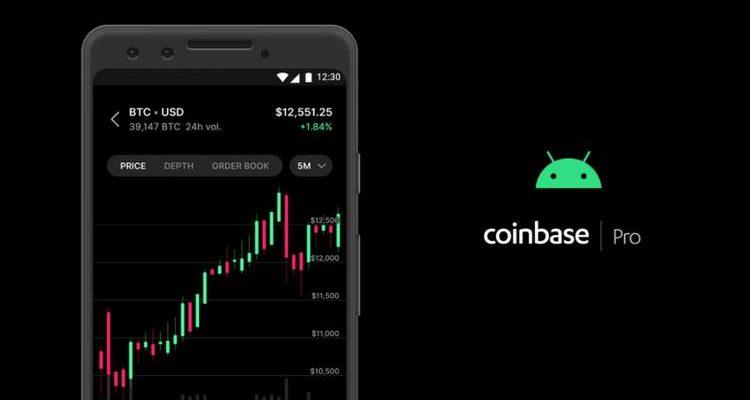L'application mobile Coinbase Pro débarque sur Android