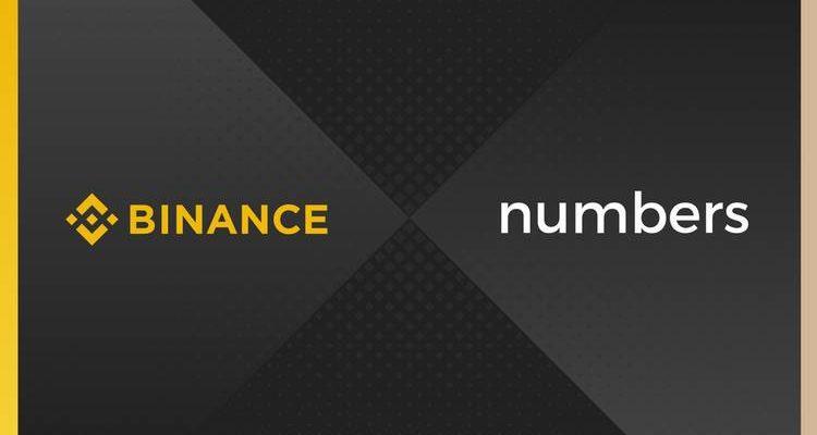 Binance soutient la startup blockchain Numbers