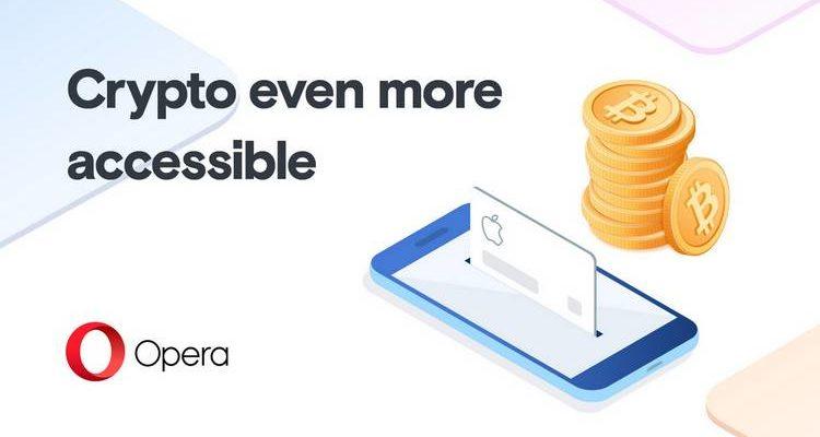Opera étend sa fonctionnalité d'achat de Bitcoin à l'Europe