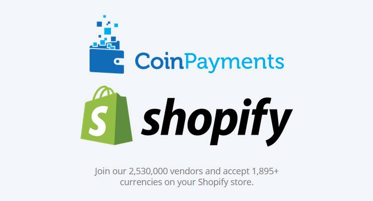 Shopify Announces Strategic Partnership with CoinPayments