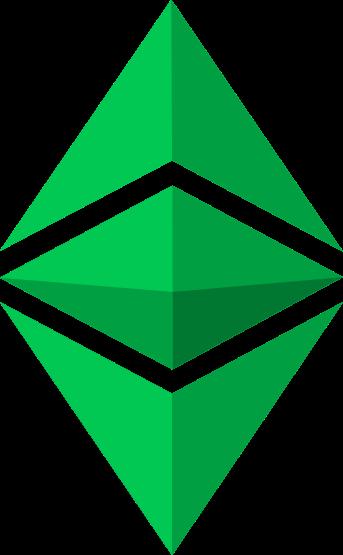 Logo de la crypto ETC