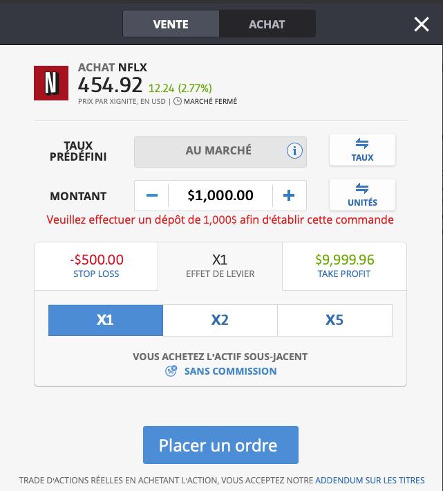 Acheter Netflix