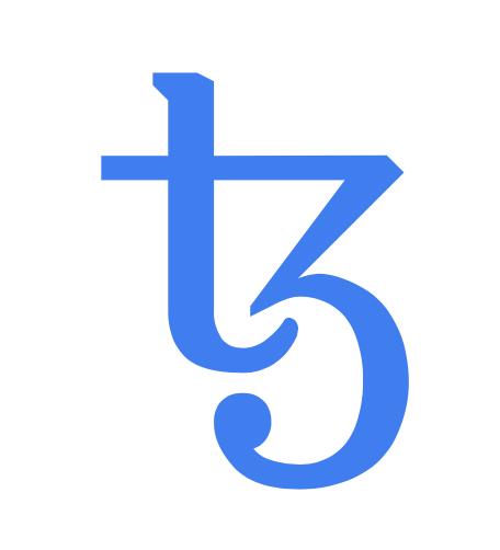 Logo de la crypto XTZ