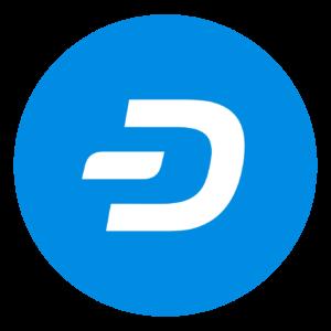 Logo Dash acheter crypto monnaie
