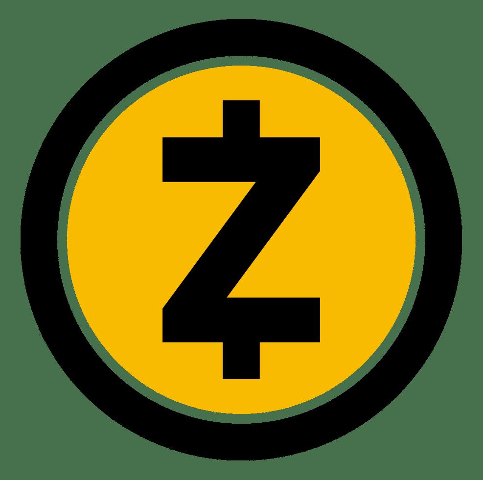 Logo de la crypto ZEC