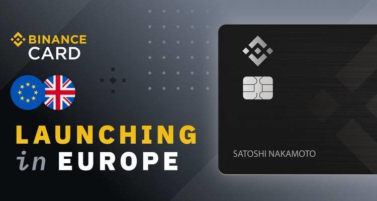 Binance annonce la sortie de sa crypto-carte en Europe