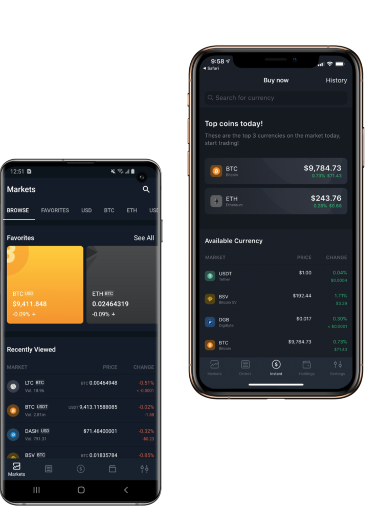 Bittrex avis app