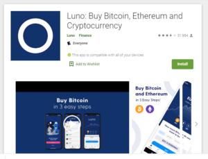 application luno télécharger