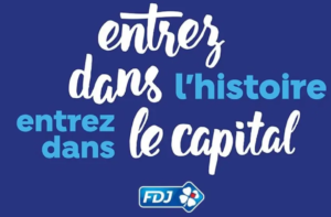 capital de l'action FDJ