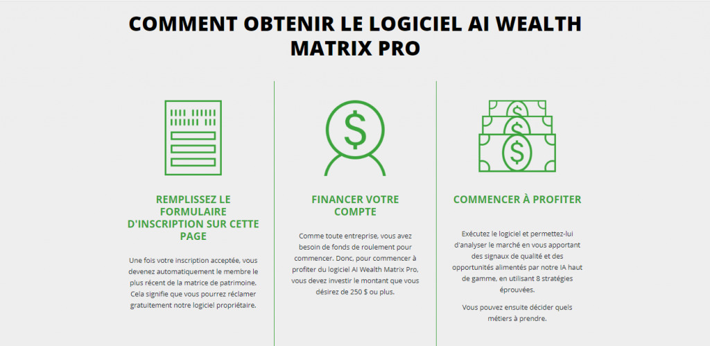 Comment fonctionne Wealth Matrix ?