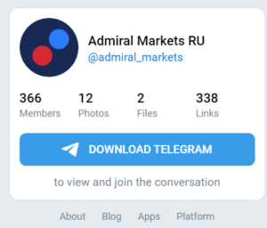 telegram admiral markets