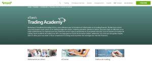 academie trading etoro