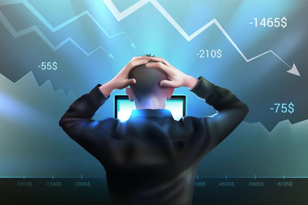 Inquiétude face à une économie qui s'effondre