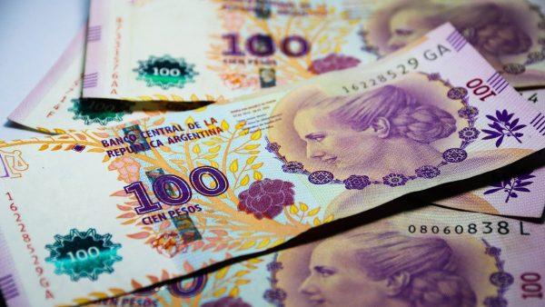 Billet de banque en pesos argentin