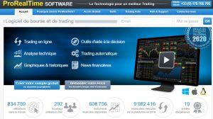 PRT trading algorithmique