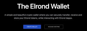 Elrond a-t-il un portefeuille ?