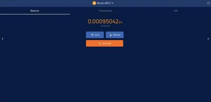 Achat de crypto sur Jaxx