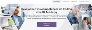 options trading ig academy