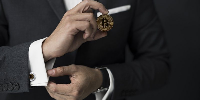 homme d'affaire crypto