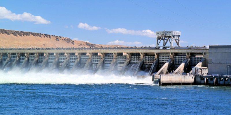 barrage hydraulique - énergie propre