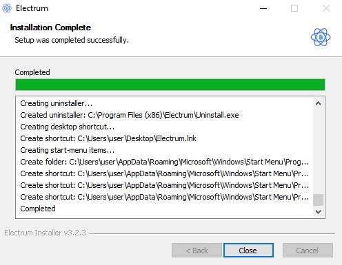 Phase 1: Téléchargez le logiciel Electrum