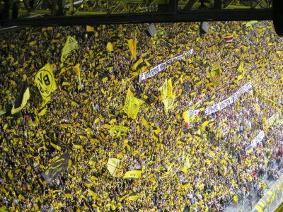 Supporters football Borussia Dortmund