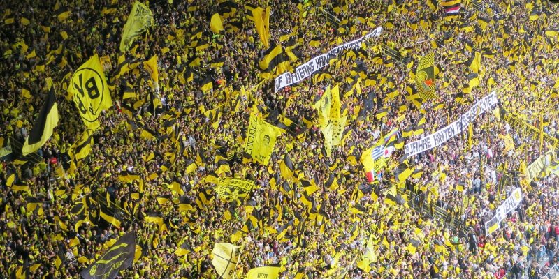 Supporters football Borussia Dortmund