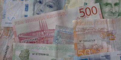 billets couronnes suédoises