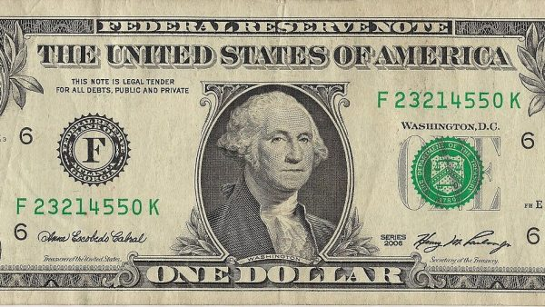 billet dollar americain