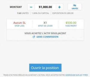 Achat actions Coinbase