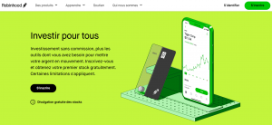action robinhood investir