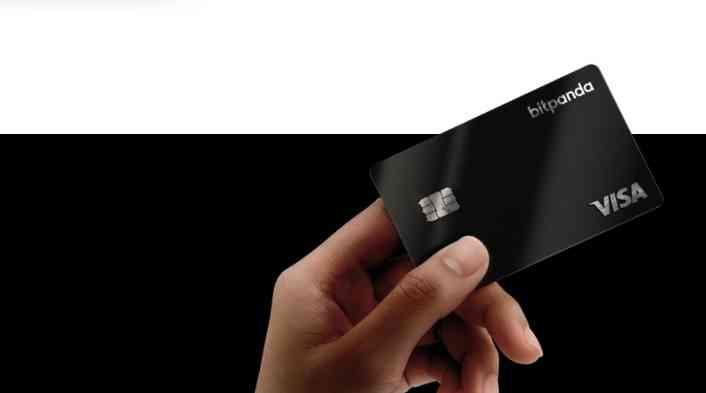 Carte de débit Visa de Bitpanda