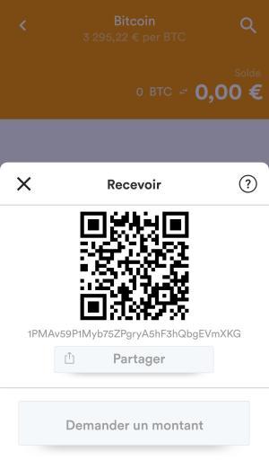 Code QR + Adresse BRD