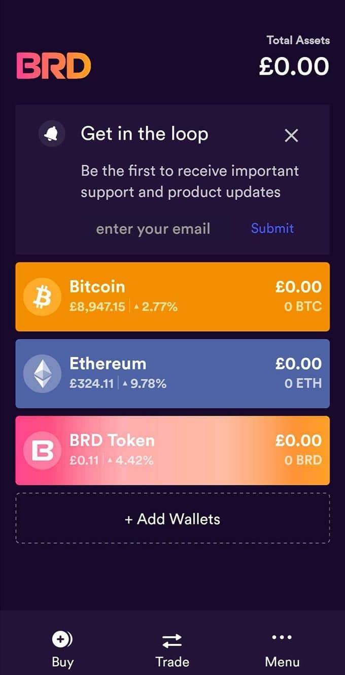 Acheter des cryptos