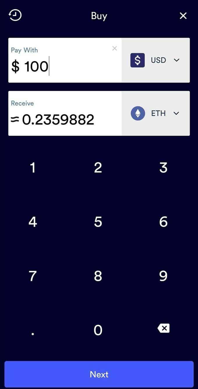 Entrer les devises