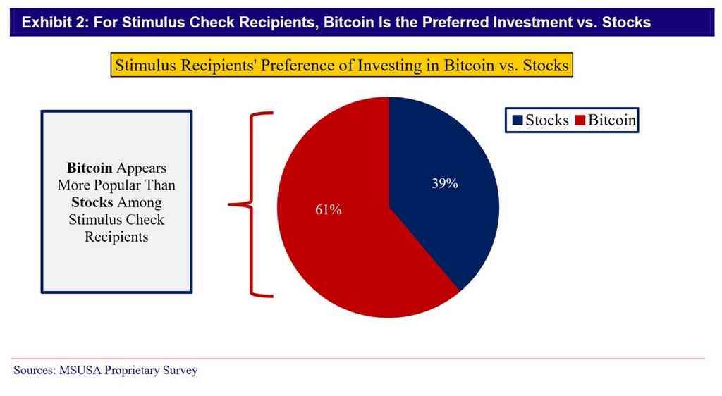 Nouvelle flambée de Bitcoin grâce aux chèques de relance ?