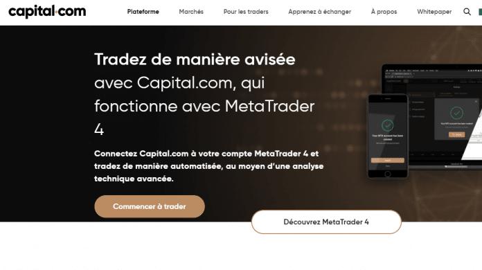 Télécharger MetaTrader 4 mac sur Capital.com