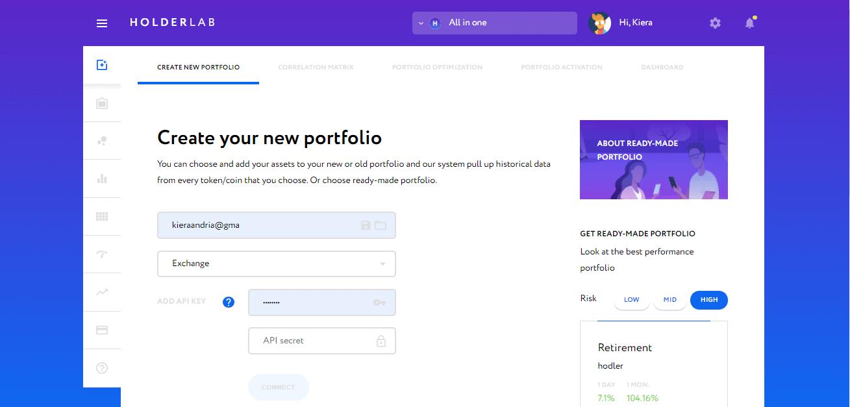 Créer un portfolio