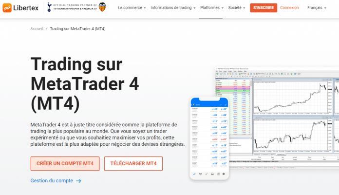 Télécharger MetaTrader 4 mac sur Libertex